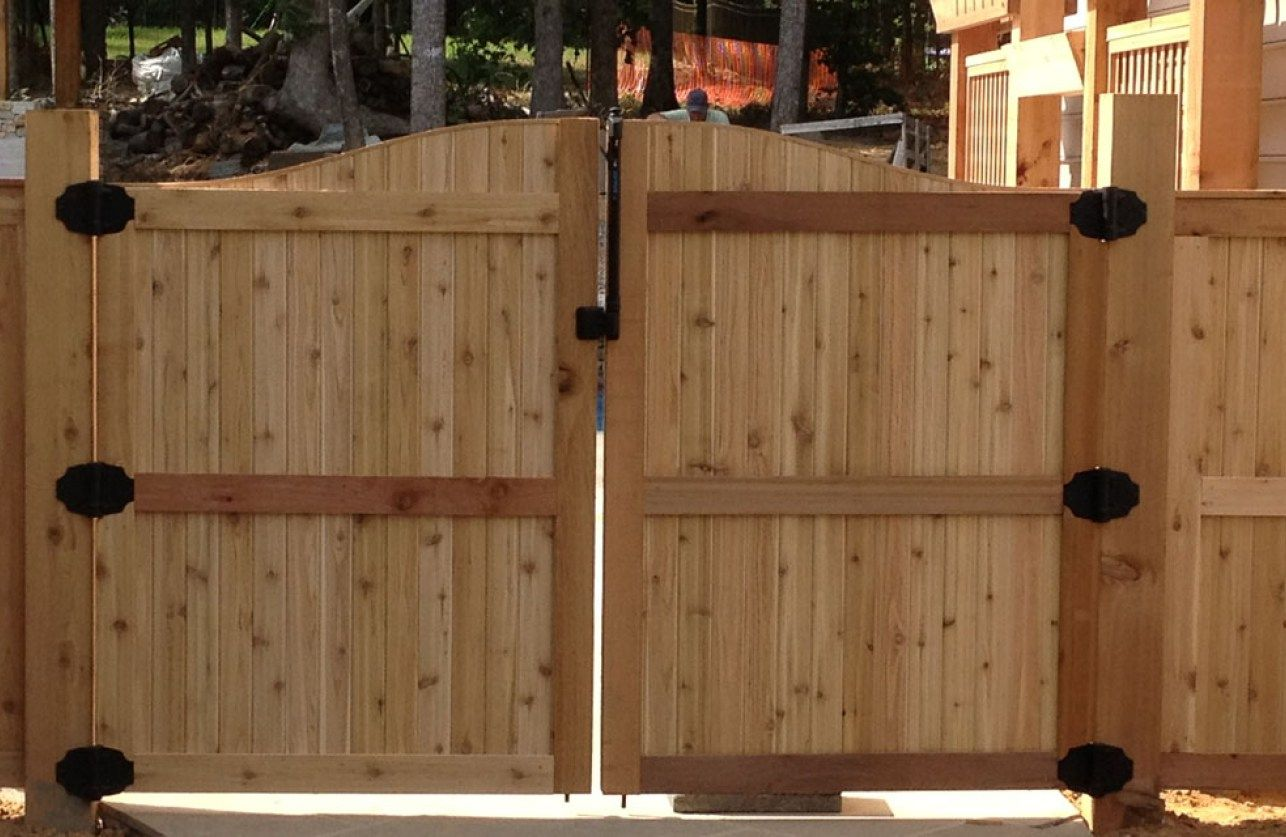 Fence Building Wooden Fence Gate Stunning How To Install A