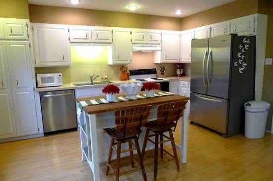 ikea kitchen island table Ikea kitchen island Home Pinterest