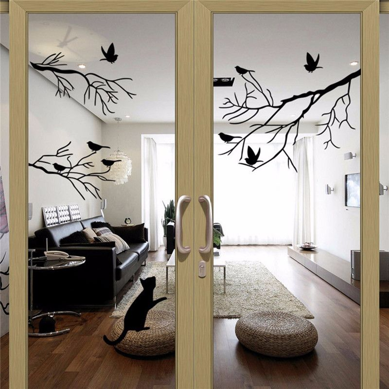 Online Buy Wholesale Design Glass Window From China Design Glass Kids Room Murals Bedroom Interior Wall Decor Stickers