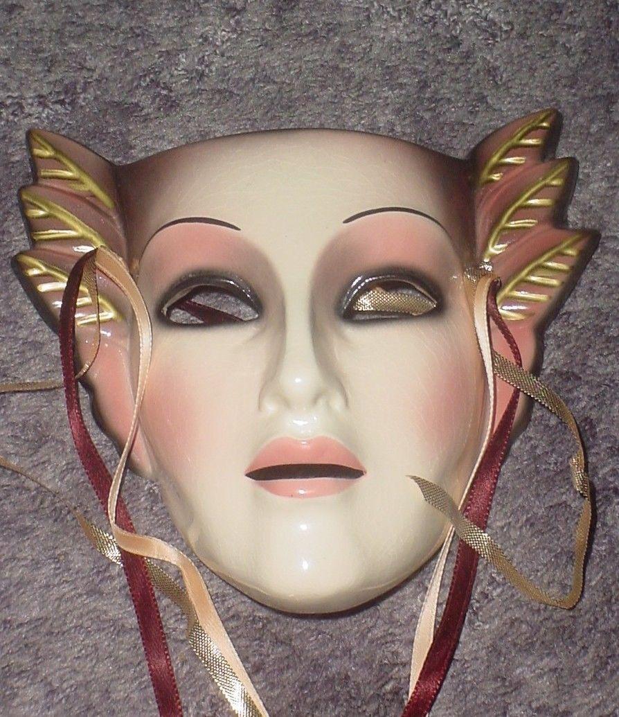 Clay art Mask San Francisco Co. Deco Drama Ceramic mask