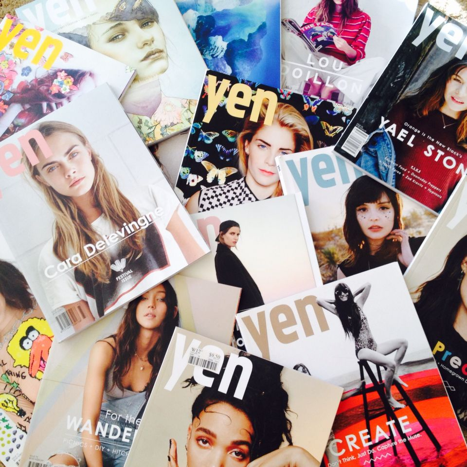 Yen magazines !!!