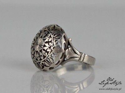 Unikatowy Srebrny Pierscionek Kopulka Lata 70 Te 6784695166 Oficjalne Archiwum Allegro Arrow Jewelry Antique Rings Jewelry