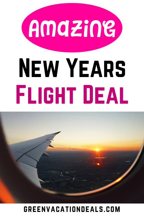 New Years Flight Deals | Flight deals, Vacation deals ...