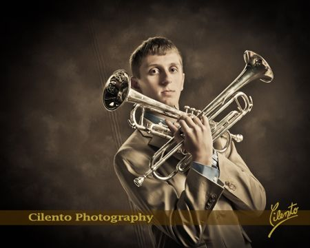 If music is a big part of your personality, showcase that in your senior pictures. Instruments help tell your individual story.