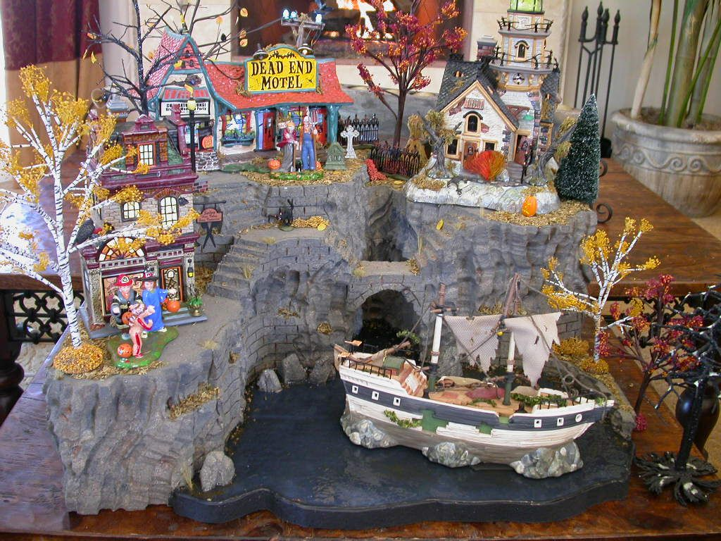 halloween village display department 56 halloween by showcase displays stephen pepin