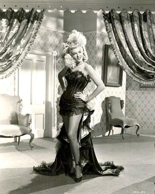 Jane Russell in 'Montana Belle', 1952.