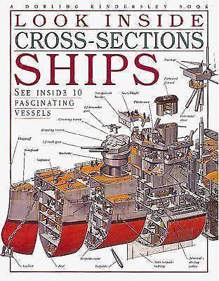 Look Inside Cross Sections Ships Deni Bown Jonathan Potter DK Dorling Kindersley