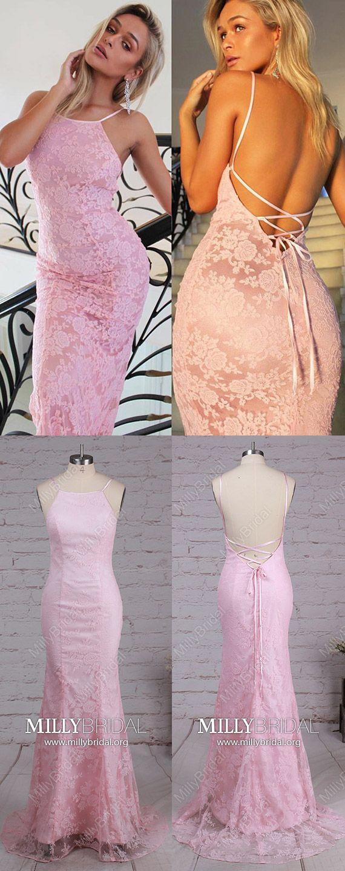 Pink prom dresseslong formal evening dresses modestcheap wedding