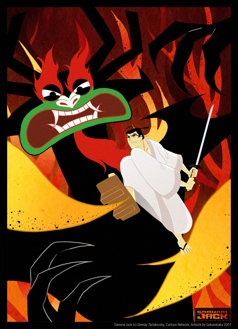 Samurai Jack - It may one of my favorite cartoons. | Geek ...