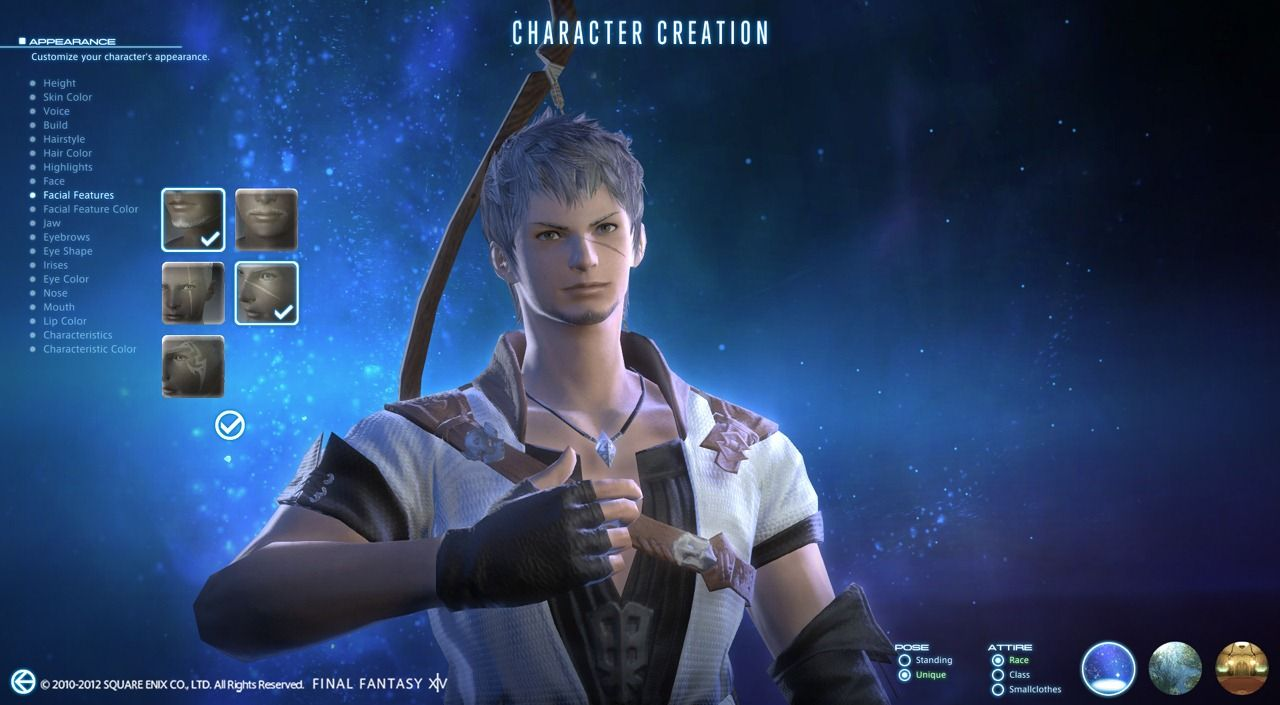 Final Fantasy Xiv A Realm Reborn New Character Creation System