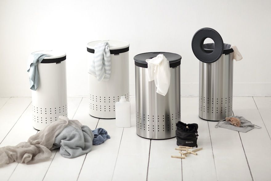 Brabantia Wasbox 50 Liter Matt Steel.Core77 On Design For Laundry Very Cool They Featured The Dutch