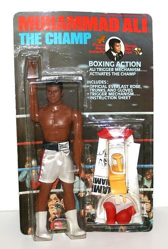 "Vintage 1976 Mego Muhammad Ali 9"" Tall Action Figure in Original Packaging | eBay"