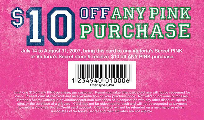 victoria secrets coupons printable
