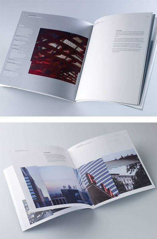 Deustche Bank Brochure By Studio Br  Inspiration Grid  Design