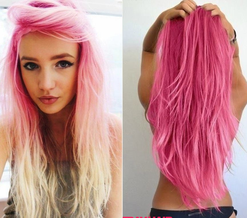 20 Pink Hairstyle Pics Hair Color Inspiration  Hair