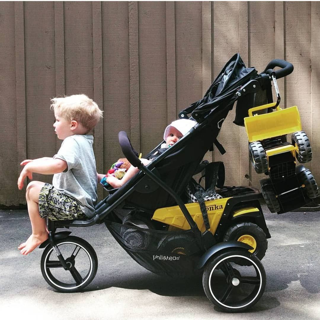 Our most compact lightweight double stroller, dot provides