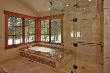 Master Tub And Shower Traditional Bathroom Sacramento Ward