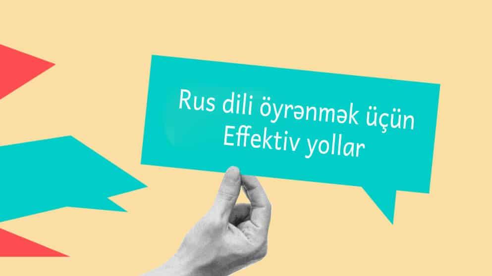 Rus Dili Oyrenmek Ucun Effektiv Yollar 1 Dili Language Rud
