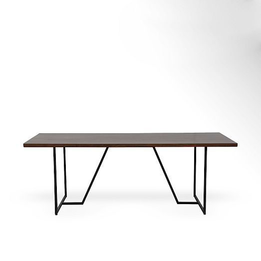Geometric Base Dining Table West Elm Furniture And