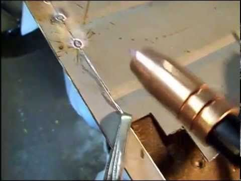 Tips On Spot Welding Thin Gauge Sheet Metal Flux Core Welder Youtube Welding Table Welding Projects Welding