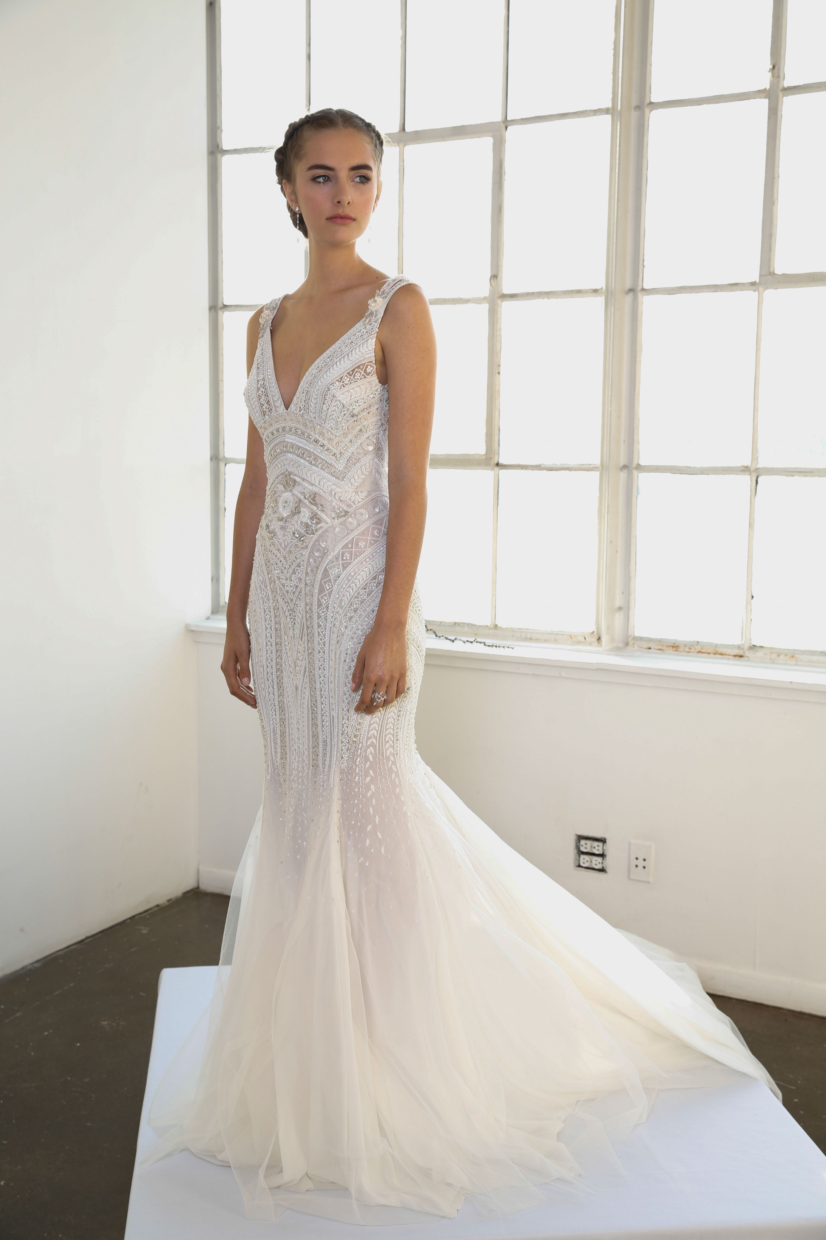 Catwalk Photos And All The Looks From Marchesa Bridal Spring Summer 2016 Ready To Wear New York Fashion Week