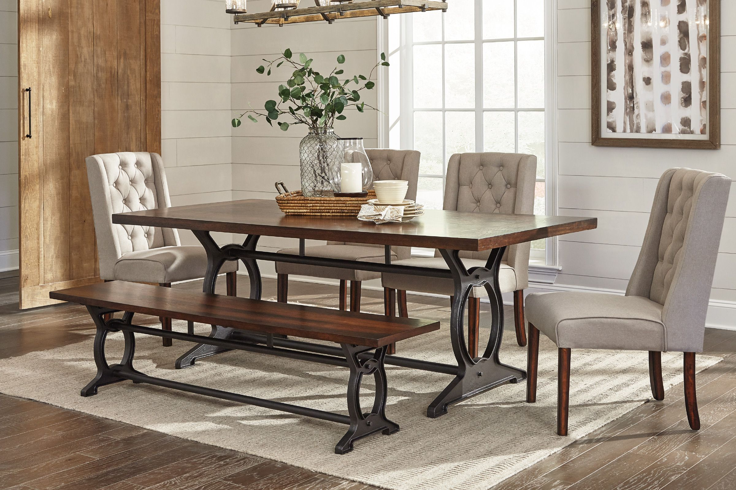Laurel Dining Table 6 Side Chairs Dining Room Sets Dining