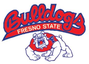 Fresno State University Fresno State Fresno College Logo