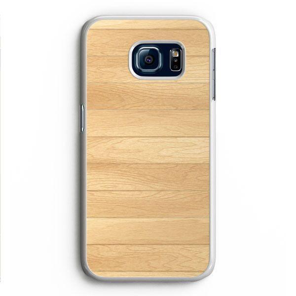 Wooden Panel Samsung Galaxy S6 Edge Case Aneend