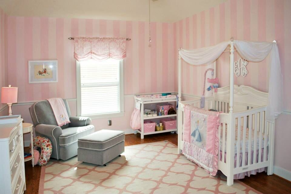 My Cinderella inspired nursery. Toddler bed, Kids room