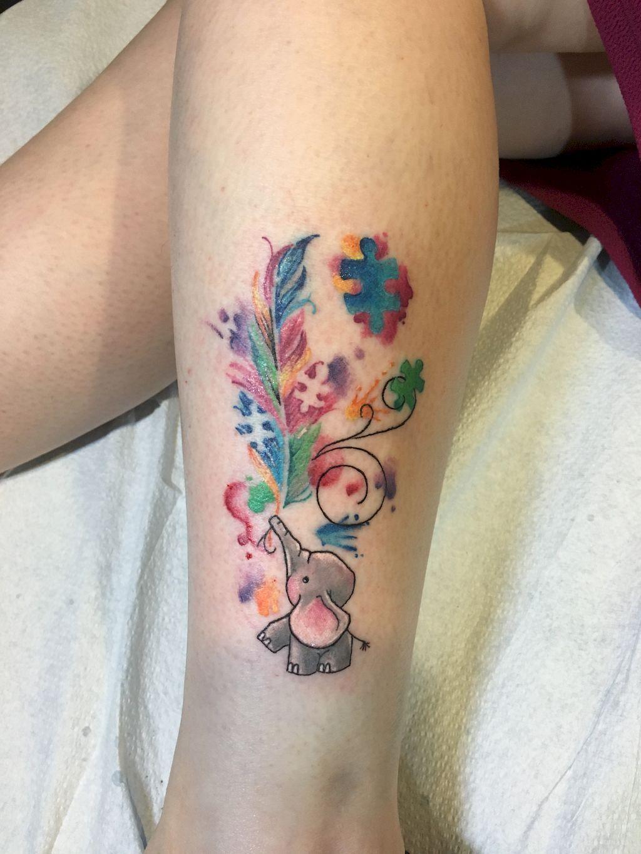 45 Coolest Puzzle Piece Autism Tattoos Art Ideas Puzzle