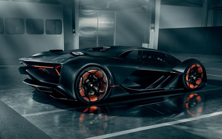 Download Wallpapers Lamborghini Terzo Millennio 4k Hypercars 2019