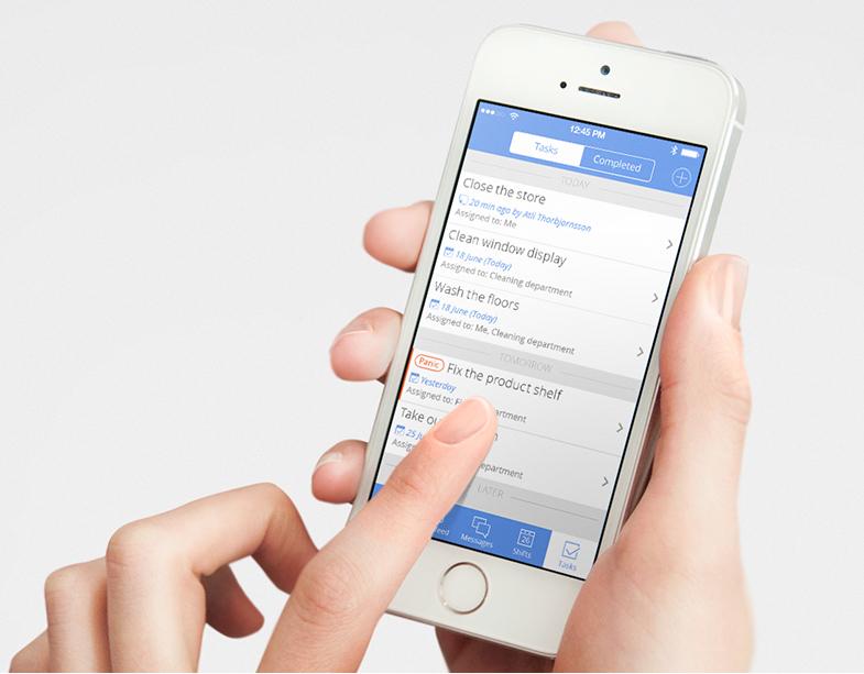 Nice Task List on Sling Mobile Make it simple