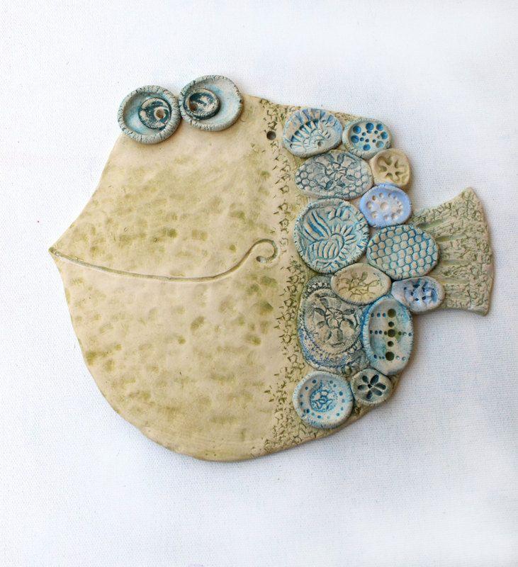 Handmade Ceramic Wall Decor \