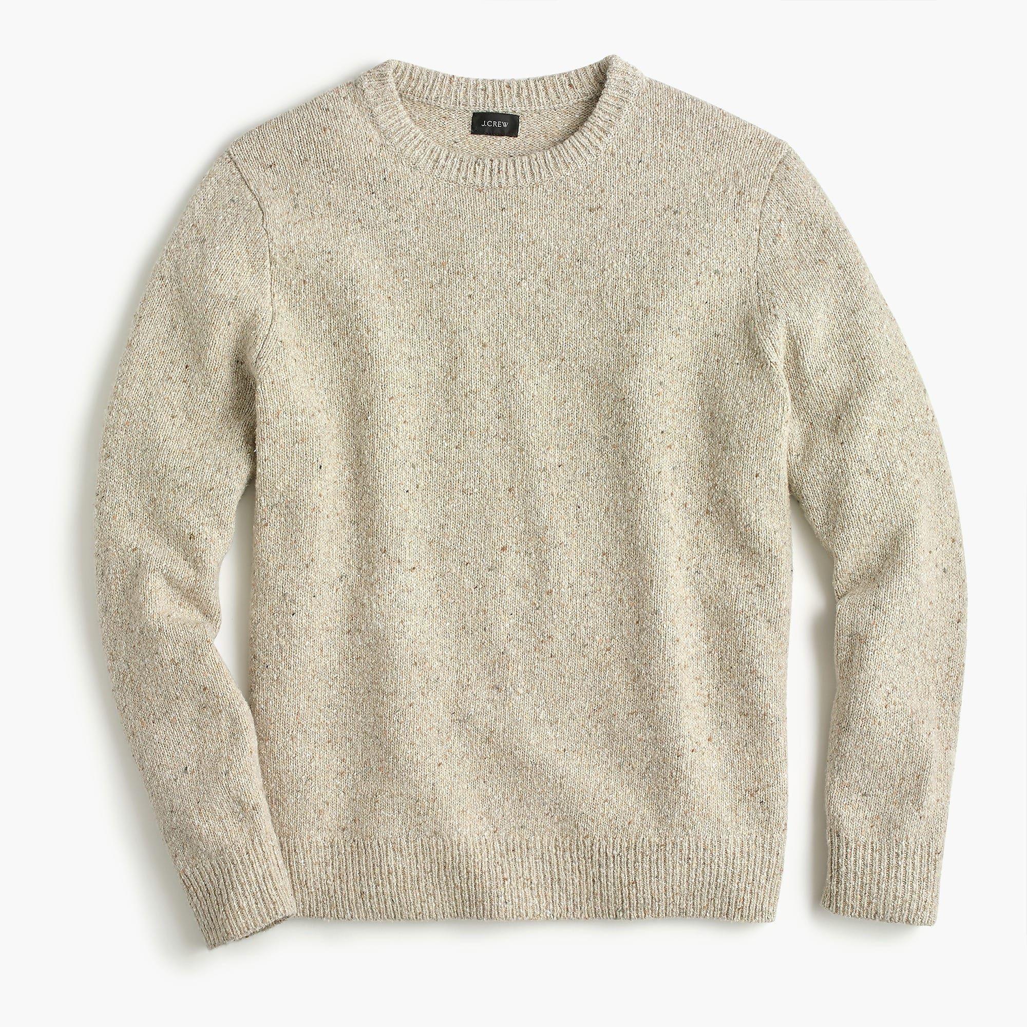 9b0a7b906b5b Italian Donegal wool crewneck