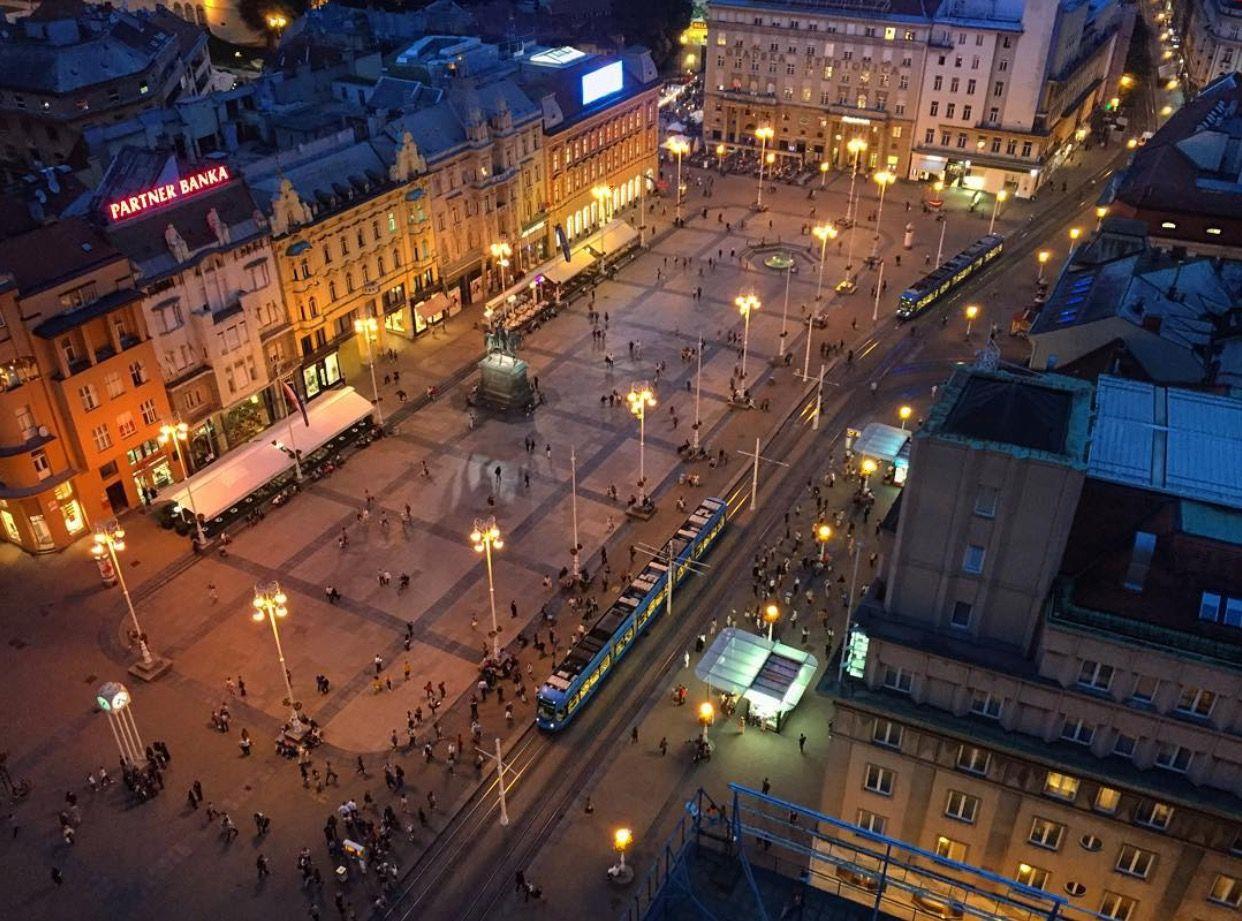 Ugodna Opustajuca Vecer Na Zagrebackim Ulicama Photo C Jasmin Djedovic Zagrebfacts Zagreb Zg Agram Trgbanajelacica Croatia Zagreb Europe Travel