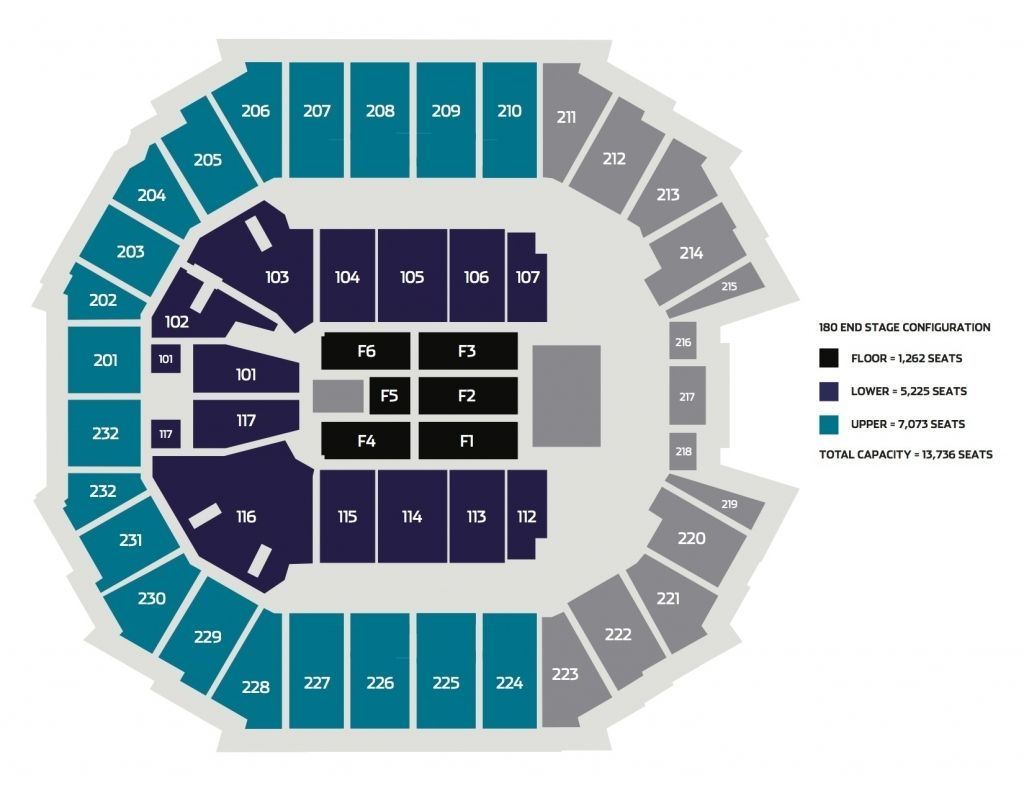 Stylish As Well As Gorgeous Baxter Arena Seating Chart Di 2020