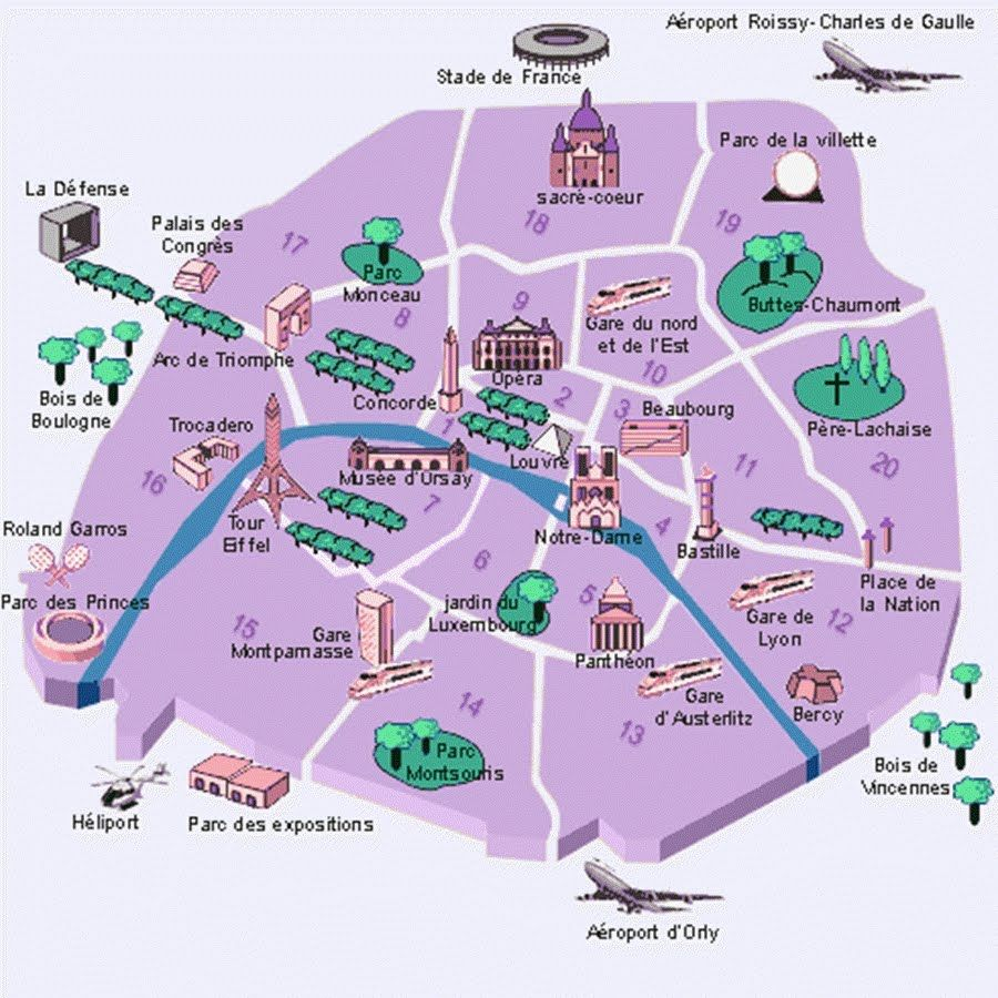 Descriptions Of Paris Arrondissements Http Youngadventuress