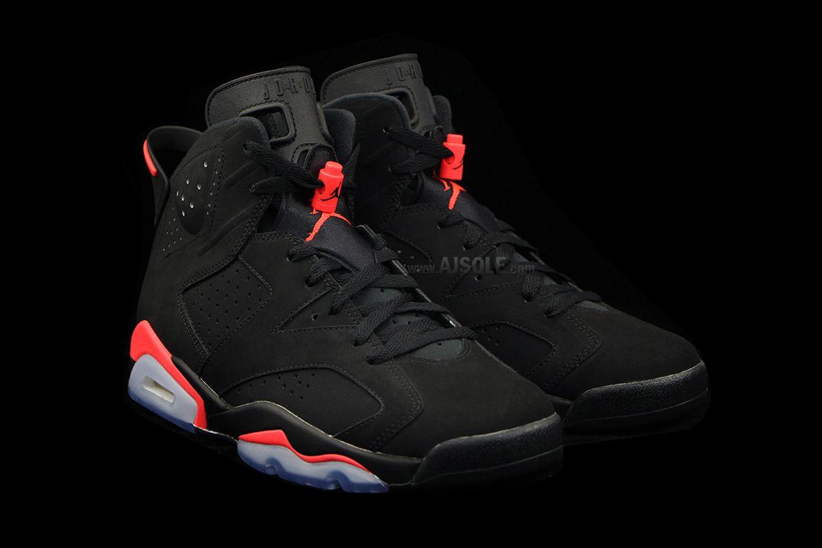 Air Jordan 6 Retro Black/Infrared 23 for Black Friday