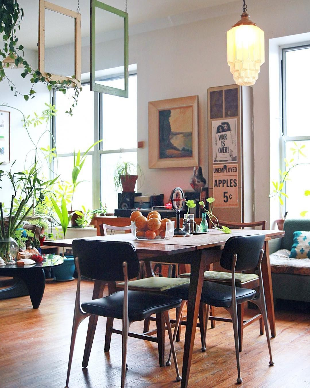 Brooklyn Studio Apartments: The Colorful Jungle Space That Is @hornaday's Third-floor