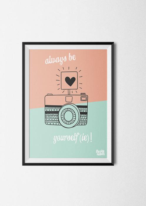 kinderkamer kinderposter babykamer quote poster pastel, Deco ideeën
