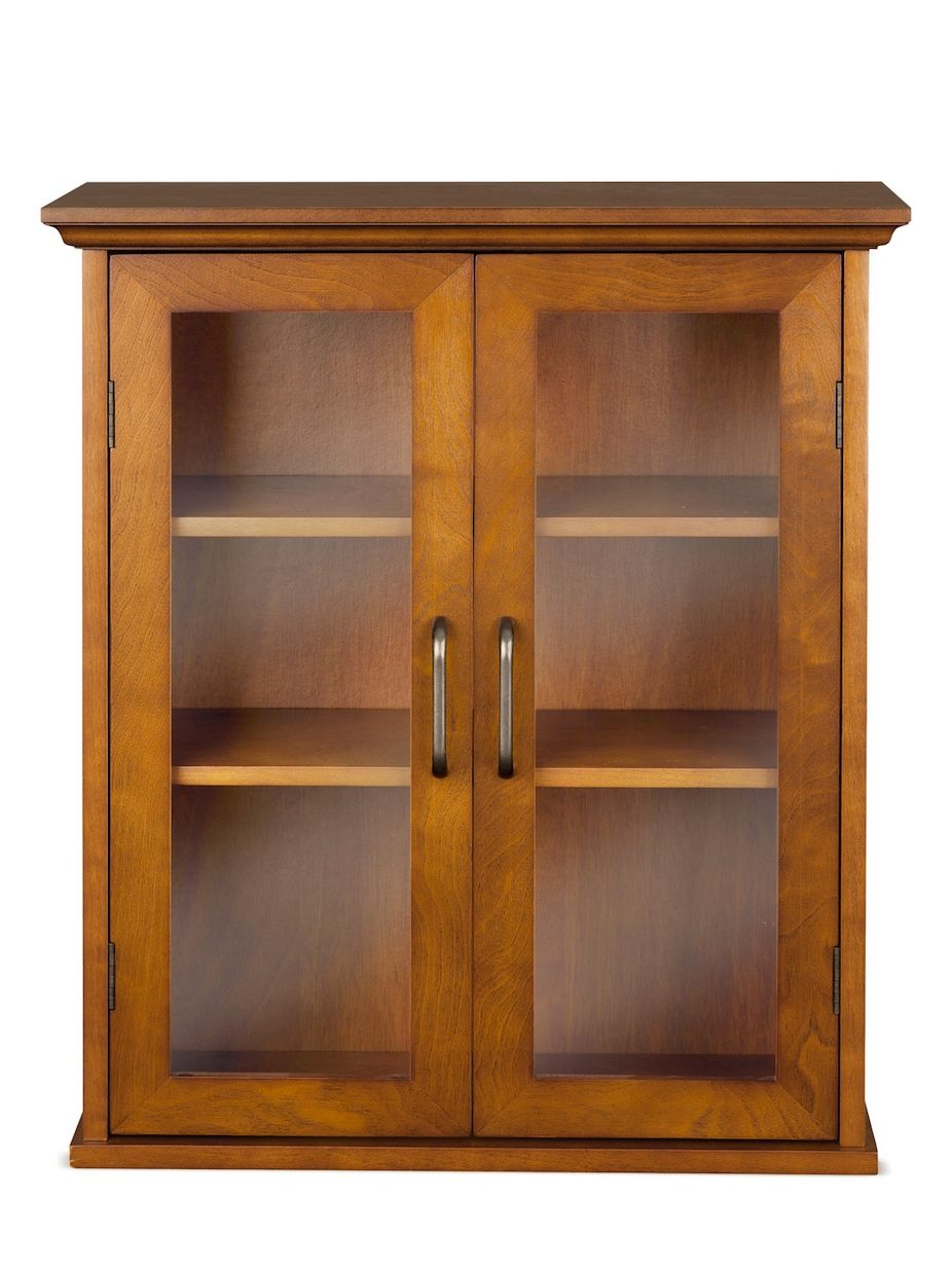 Elegant Home Fashions Avery Wall Cabinet With 2 Doors Dream Home