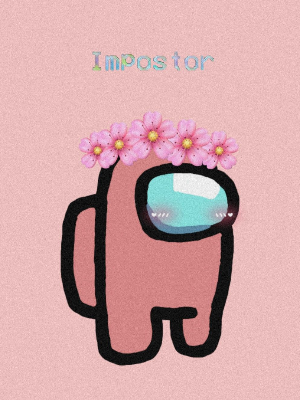 Among Us Pink Aesthetic Iphone Wallpaper Pretty Wallpaper Iphone Wallpaper Iphone Neon Among us is a massively multiplayer online game for a company of four to ten people. pink aesthetic iphone wallpaper
