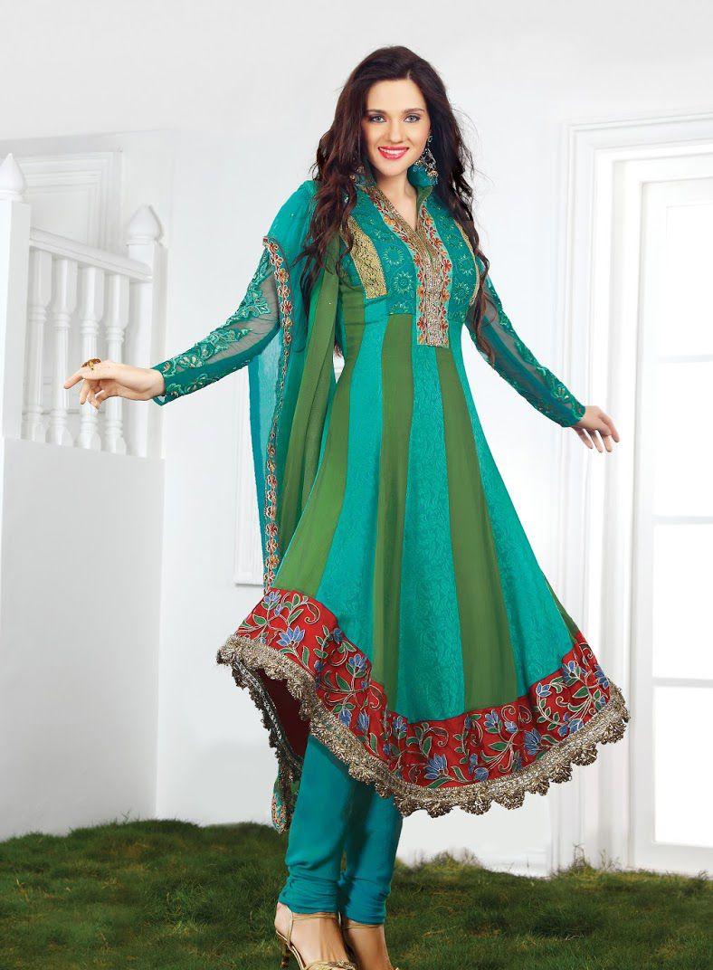 Klasyy Salwar Kameez for Women   Salwar Kameez   Pinterest ...