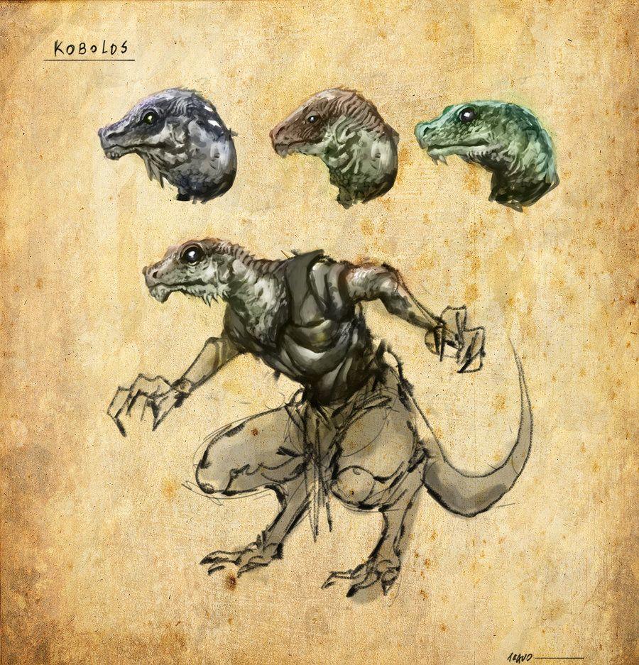 Nilbog - Pathfinder Kobold Character by AngusBurgers on