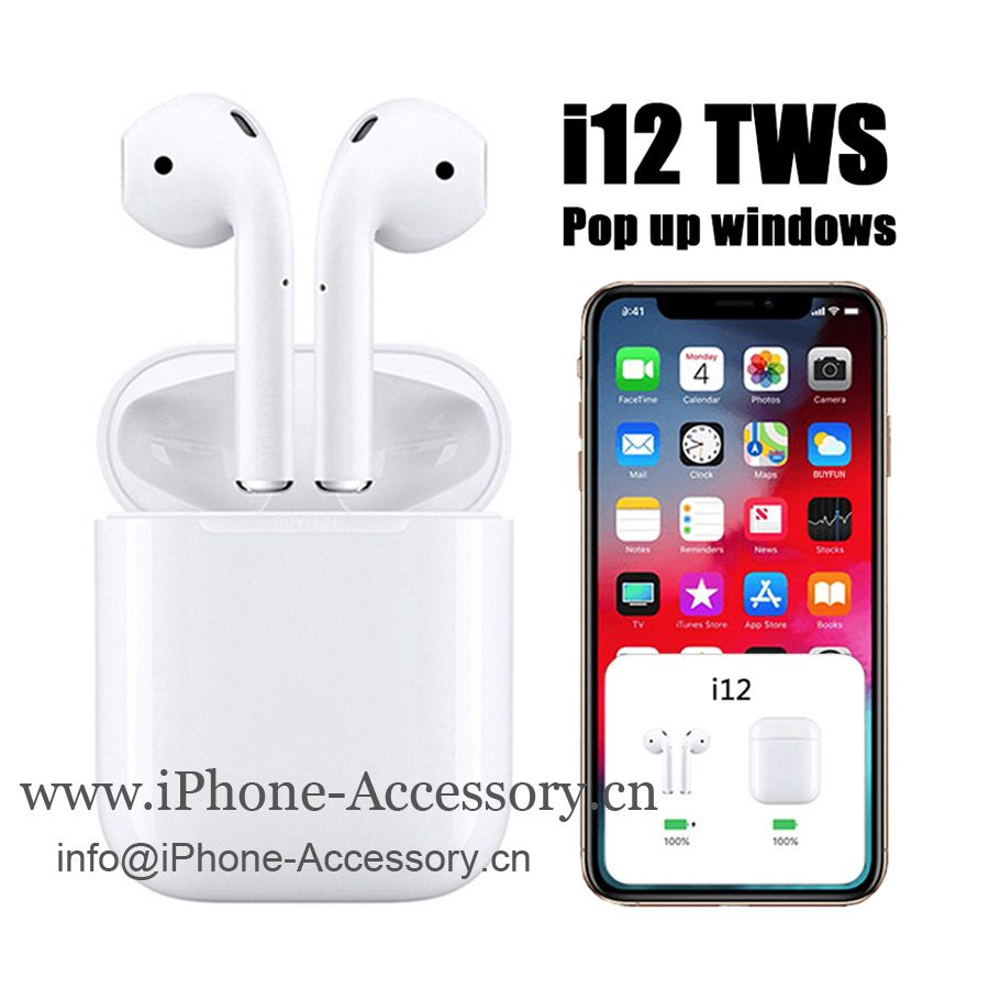 TWS i12 Bluetooth Earphone