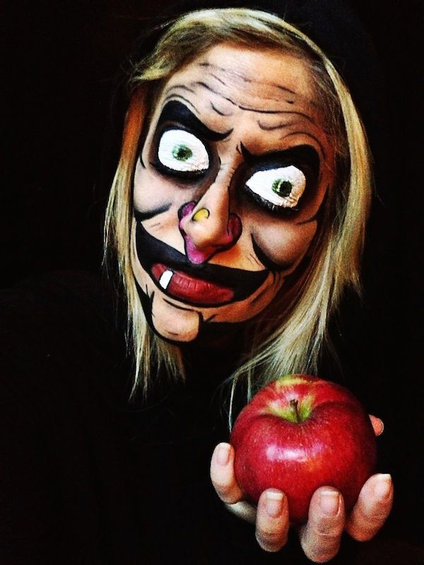 24 Of The Most Creative And Scary Halloween Makeup Ideas (Photos ...