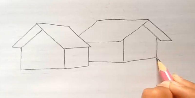 Cara Menggambar Lantai Rumah