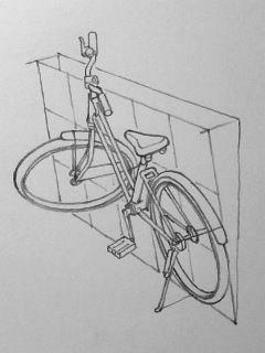 自転車の描き方の画像 3 3 湯浅誠の雑記帳 自転車アート 自転車 スケッチデザイン