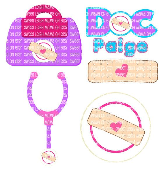 Doc Mcstuffins Birthday Party Diy Customize Child S Name Using