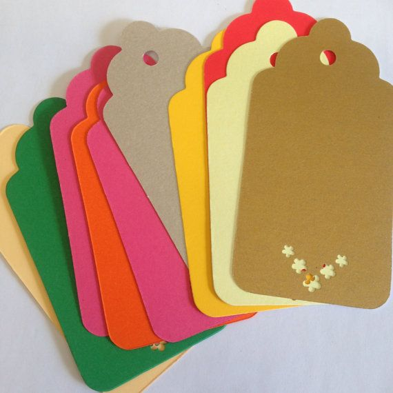 Gift tags swing tags labels and tags scrap book by Mandymoos72